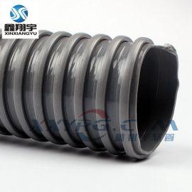 鑫翔宇PVC方筋螺旋增強軟管, 風琴管, 工業吸塵管