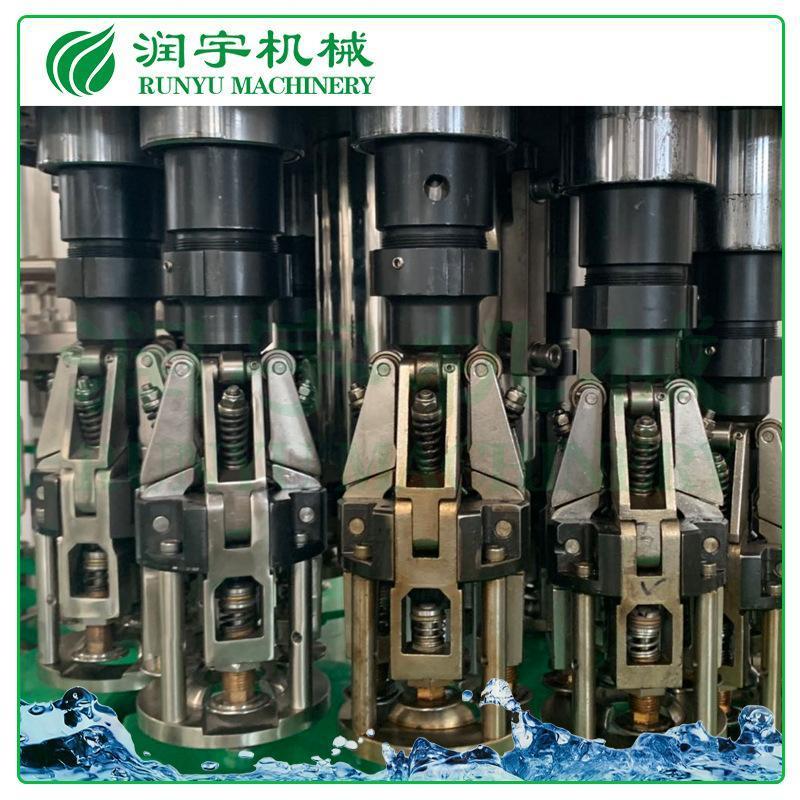 玻璃瓶铝制盖灌装机,酵素灌装机,润宇