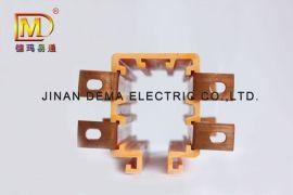 管式多极滑触线 方管式滑触线 认准德玛品牌滑线