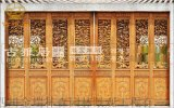 成都瑞森实木花格门窗厂,古建门窗定制加工