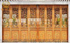 成都瑞森實木花格門窗廠,古建門窗定制加工