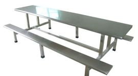 定做不锈钢餐桌-广州市不锈钢餐桌