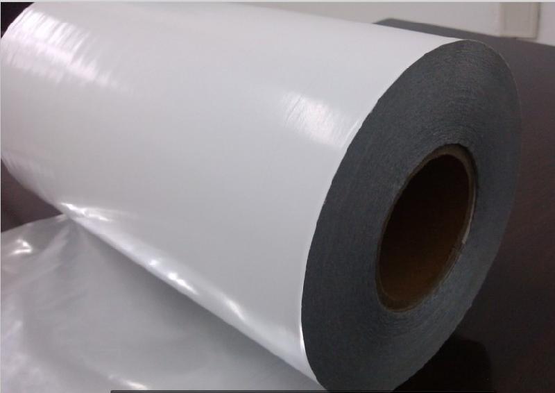 兴冠格底油胶压纹胶合成纸