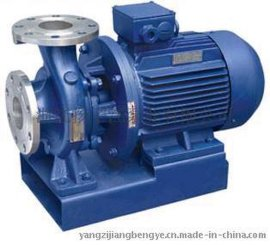 离心泵:ISW型系列卧式管道离心泵卧式清水泵