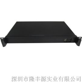 1U上架式标准铝型材面板工控服务器机箱L2501