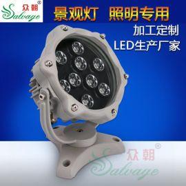 厂家批发LED防爆灯具IP65防水防爆防压专门用途灯具rgb全彩大功率
