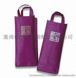 惠州工厂专业定制一支装红**袋 2支装礼品购物袋