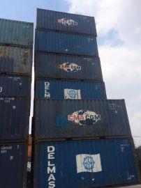 二手集装箱,6米20英尺旧集装箱