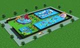 广骞厂家直销水上乐园、支架泳池、充气泳池、充气滑梯