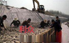 镀锌铝合金格宾网护岸 生态水利六角格宾笼 河道生态护坡格宾石笼