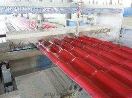 PVC+ASA塑料耐候瓦生产线
