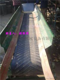砖厂专用移动皮带输送机 方管支架伸缩皮带输送机 量身定做