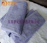 廠家直銷 提花配套毛巾 螺旋染色提花毛巾 16支紗全棉染色毛巾