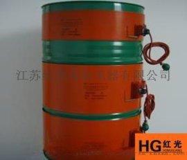 红光供应油桶硅胶加热板,硅橡胶加热器