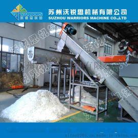 供应PE/PP薄膜清洗破碎生产线设备 农膜工业膜清洗设备生产厂家