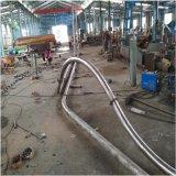 耐腐蚀管链输送机 钙粉不锈钢管链输送机LJ