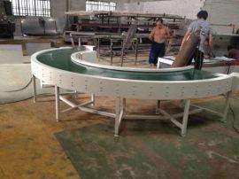 PVC物流装车带式输送机 耐磨损运行平稳皮带转弯机