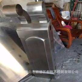 长期承接小区雨棚不锈钢钢结构不锈钢支撑柱厂家异型定制