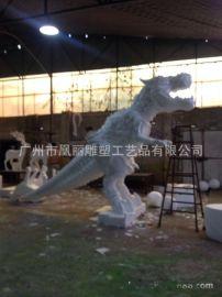 泡沫雕塑 玻璃钢雕塑 泡沫恐龙 小熊来图定做