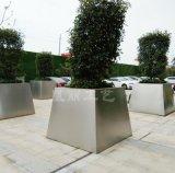 戶外不鏽鋼花箱 耐腐蝕不鏽鋼花箱定製 304#不鏽鋼烤漆花箱