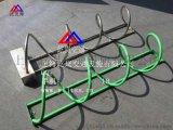 碳素鋼自行車停車架 螺旋式自行車停車架 螺旋式自行車停放架