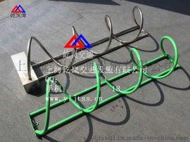 碳素钢自行车停车架 螺旋式自行车停车架 螺旋式自行车停放架