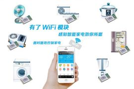 **的智能WIFI模块提供app和服务器