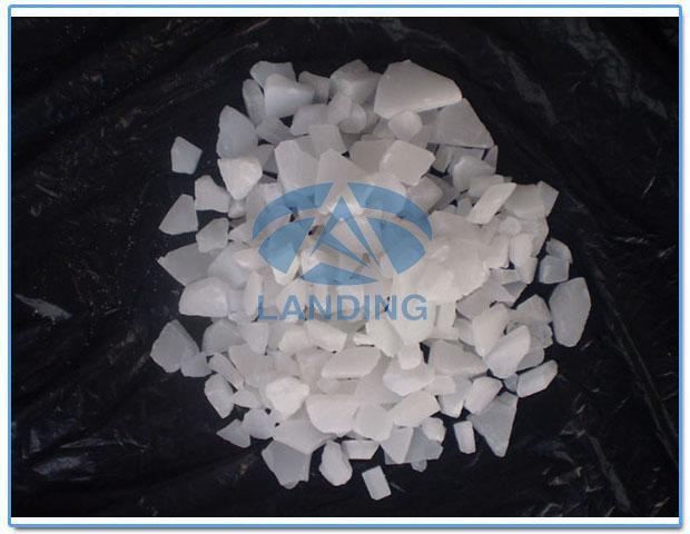 造纸专用片状无铁硫酸铝(普氢生产)