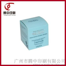 化妆品包装盒 高档纸盒设计印刷 专业定做正方形护肤品外包装盒子