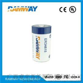 容量型ER34615睿奕19000mAh锂亚电池