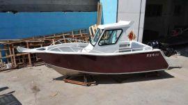 宝的6米澳洲BDJ610全铝合金游艇 远洋海钓船 铝合金钓鱼艇 工作船6m Australian BDJ610 all-aluminum yacht
