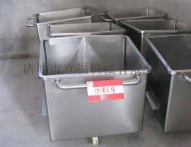 不锈钢小料车 食品厂用料车 装肉料车 运料车 手推车提升机料车