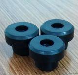 有孔橡胶胶塞,橡胶穿线圈,30度密封橡胶堵头,厂家直销 防水胶塞