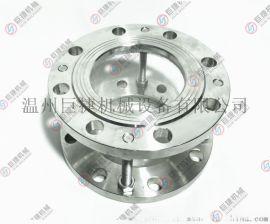 对夹视镜-不锈钢玻璃管对夹视镜、耐压玻璃管视镜