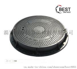 淄博井盖厂家生产重型树脂井盖圆形复合井盖