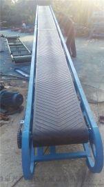 煤矿大倾角皮带输送机耐高温耐磨 皮带式输送机价格