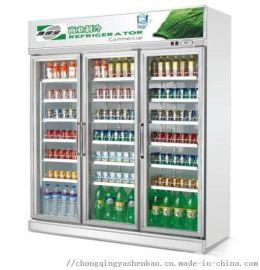 冷藏展示柜 超市便利店啤**饮料\水果商用立式保鲜柜