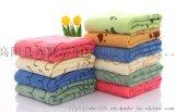 超细纤维毛巾卡通印花吸水 沙滩巾定制