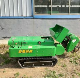 果园开沟施肥机,多功能履带式开沟施肥回填一体机
