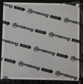 阿姆斯壮暗架微孔600x600铝扣板高吸音铝天花板
