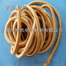 镀锡铜编织接地线 镀锡铜屏蔽网管行业领先