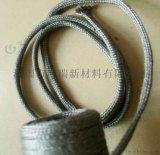 深圳廣瑞玻璃行業專用100%316L不鏽鋼纖維針織套管 廠家低價供應