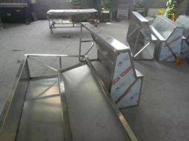 顺义区厨房通风系统设计,白铁皮通风排烟管道安装