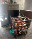 上色快燻雞烤爐,華鋼機械50型燻雞煙燻爐