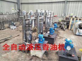 宿州芝麻液压榨油机全自动,宏发设备,10公斤榨霸