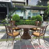 高端鑄鋁戶外花園傢俱/聖保羅別墅桌椅/庭院傢俱(ALT-1030)