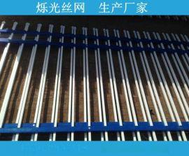 沈阳锌钢护栏 小区锌钢栅栏 喷塑铁艺围栏 新型围墙防盗防护栏