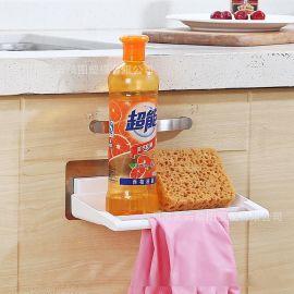 毛巾架 毛巾收納整理架 浴室無痕置物架
