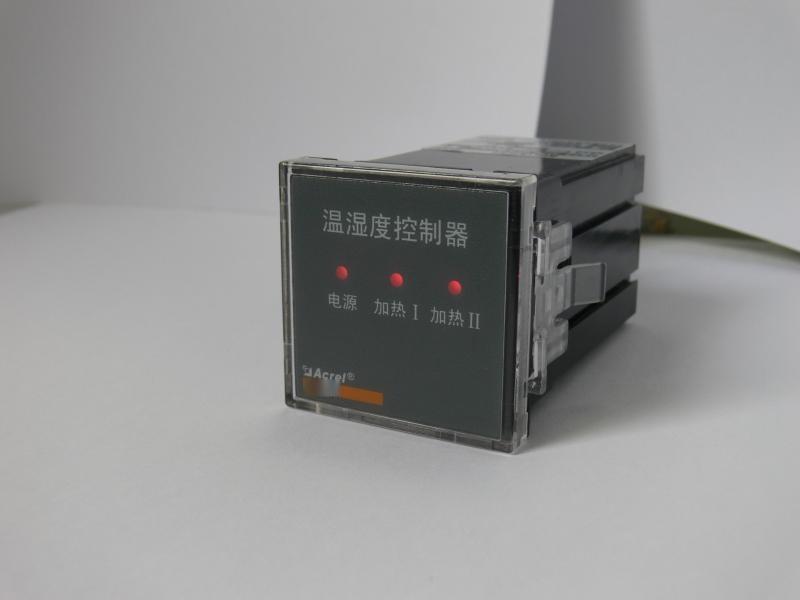 安科瑞WH48-02/HH电气柜温湿度控制器/2路加热升温控制