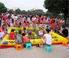 河南充气沙滩池还有多种沙滩玩具设备